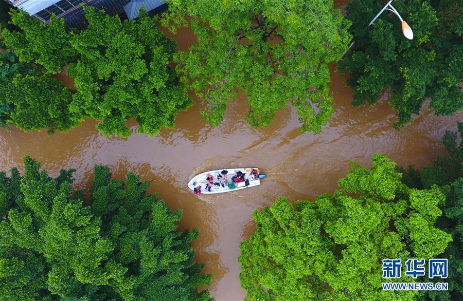 (社会)(5)广西柳州柳江出现超警戒水位